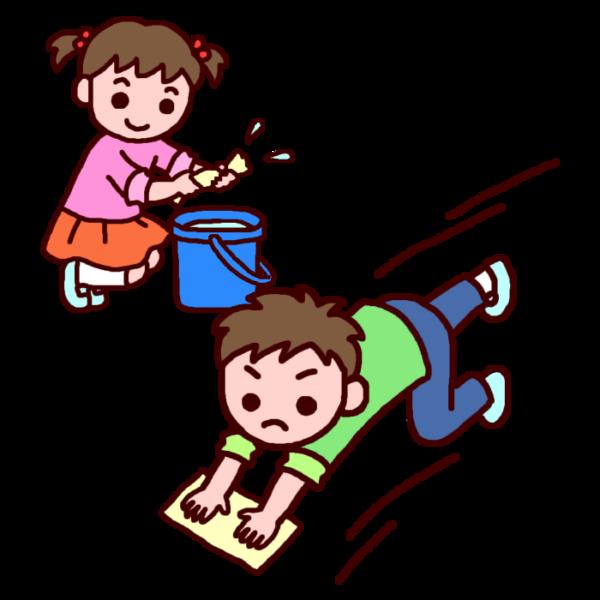 無言清掃は長野県の学校では当然それメリットあるのかな シンプル