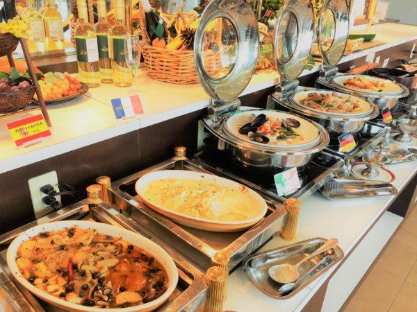toukyuureihotel-buffet